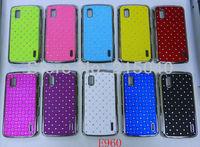 Free Shipping! Hight Quality Plating Bling Star Crystal Diamond Rhinestone Hard Back Case for LG E960 Google Nexus 4, LGC-020