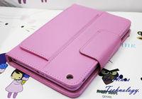 For mini iPad Wireless Bluetooth Keyboard Case Leather Cover Stand Holder High Quality Business For iPadmini miniiPad Skin