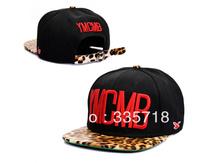 2014 new arrival YMCMB leopard strapback Snapback hats camo mens womens fashion baseball caps sun hat Free Shipping