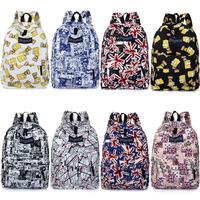 Teenagers Mochila Escolar Masculina Bagpack For Feminina Backpack Rucksack Preppy School Bag Women Men Knapsack Back Pack S220