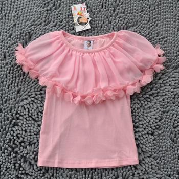FREE SH IPPING 5pcs/lot high quality New design kids girls shirt top  pettitop crochet tube tutu top