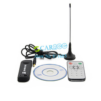 New arrival Software Radio USB DVB-T RTL2832U + R820T Support SDR Digital TV Tuner Receiver 14858