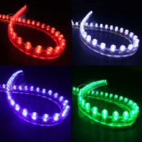 48cm 48 LED 12V Car Flexible Light Lamp lighting strip waterproof Free Shipping