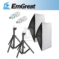 New 1000W Photography Studio Light Lighting Kit E27 5500K Photo Softbox Light Stand 016277