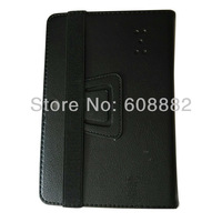 7 Inch Q88 Leather Case for Tablet  PC A13 Q88  - Black Color