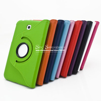 P3200 Case Leather 360 Rotating Leather Covers for Samsung Galaxy Tab 3 P3200 / P3210 SM-T210 7.0 inch Tablet 1PCS  Free Postage