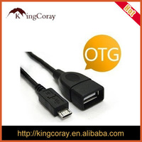 FACTORY SUPPLY USB OTG CABLE WITH PACKING