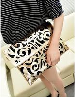 Hot selling! new 2013 fashion vintage neon color cutout envelope bag candy color day clutch women's handbag messenger bag