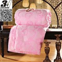 Fast shipping 3KG Winter/Autum handmade 100% pure mulberry silk quilt/duvet/comforter queen size 200*230cm silk quilt