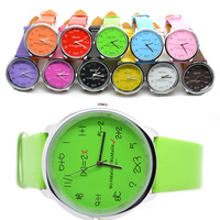 ToMoNo  multicolor WoMaGe PU Leather Band Analog Electronic Watches For Women Student Kid Hours