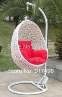 Jufeng rattan bird nest outdoor swing hanging basket hanging chair leisure chair rattan hanging chair cushion