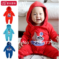 Baby bodysuit male female child clothes rompers newborn romper long-sleeve 0 - 2 age autumn and winter Pirate series Romper
