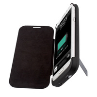 2014 New Arrival New Abs Hot!4200mah External Backup Battery Case Forsamsung Galaxy Note 2 Ii 7100 Power Bank Freeshipping