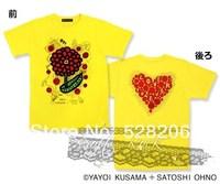 Customize J-POP Arashi 2014 t-shirt tee KUSAMA