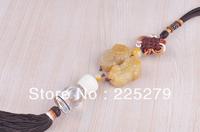 Elegant Design Chinese Knot Topaz Car Perfume Hanging High Quality User Friendly Car Tassels Hanging