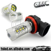High power 80W CREE H4/H7/H8/H9/H11/H10/9005/9006/H16/P13 Car LED light
