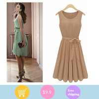 Spring and Summer 2013 Women's New High-quality European and American Flounced Dress Lapel Single-breasted Tunic Pleated Dress.