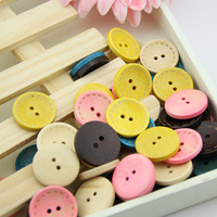 Free shipping 60PCS color laser pattern art coconut shell button 15MM (SB24L01X01) button decorative buckle