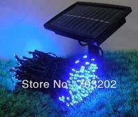 200LEDs Solar power led decoration light blue