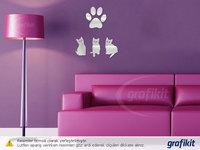 Min order 15 usd ( Mix items ) Fashion Cat Stickers Living Room Decor Tv Wall Decor Child Bedroom Vinyl Wall Stickers