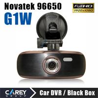 """G1W Full HD 140 degree  2.7"""" LCD Car DVR Recorder with G-sensor H.264 Novatek 96650 chipset"""