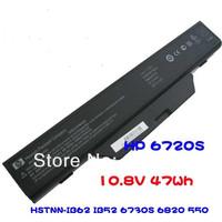 Genuine Original For  6720S  6730s  6735s 5506cell laptop battery 610 HSTNN-IB52 OB62 550 OB52  free shipping