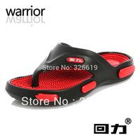Free Shipping Polka Dot Warrior 3310 male slipper summer slipper male sandals flat heel sandals anti-slip soles shoes flip flops