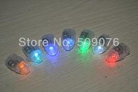 Free shipping 50pcs/lot 2.5*1.5CM 6color led balloon lamp led ball light for Paper Lantern Balloon led Party Light for wedding