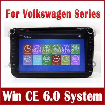 Auto Radio Car DVD Player for VW Volkswagen Tiguan Touran Scirocco Polo with GPS Navigation Bluetooth TV USB Map Video Sat Nav