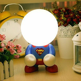 Free shipping bedside lamp Led charge table cartoon energy saving lamp baby lamp small night light bedroom bedside lamp lamps