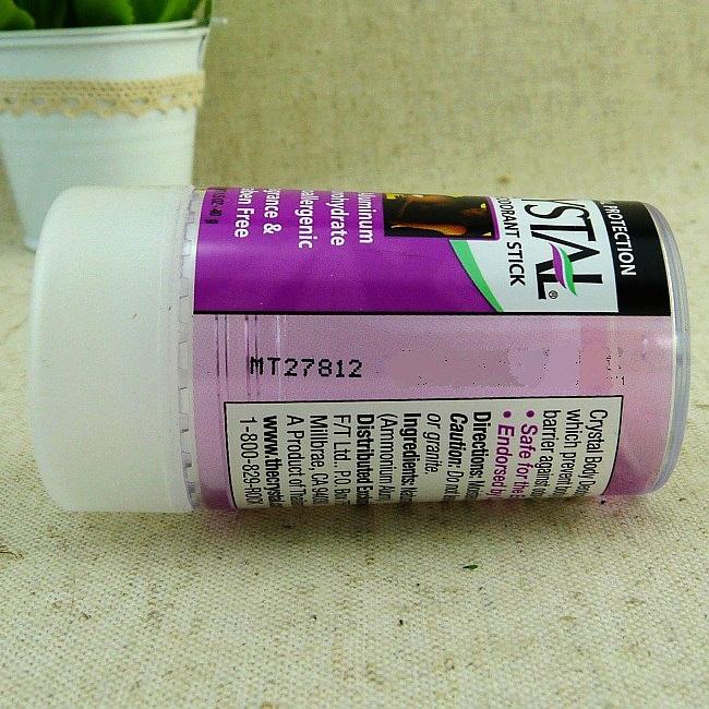 Crystal body deodorant stick,Cr
