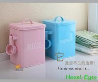Rice bucket brief storage bucket kitchen cabinet stockholders box