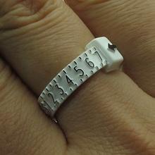Ring Sizer Finger Gauge Belt Measure US size 1 17 for Titanium Tungsten Ring
