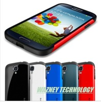 100set(case+ Screen film)/lot* Newest SGP SPIGEN SGP Slim Armor Color case for Samsung Galaxy S4 I9500  For Galaxy S3 optional