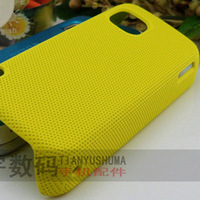 PLASTIC NET HARD MESH HOLES Back CASE COVER FOR NOKIA 5230 5233 5235 5238 5228 FREE SHIPPING