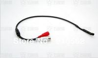 40PCS/lot  Surveillance RCA cctv Mic Microphone Sound Monitor cctv sound pick-up audio voice pick up device for Security Camera
