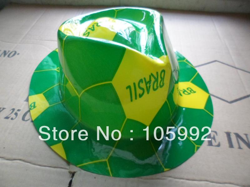 Free shipping- cowboy hat printing green football cap new style 50pcs/lot(China (Mainland))