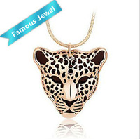 W.Life(Janos) Brand Tiger 18k gold plated drop oil pendant jewelry Free shipping Top-quality