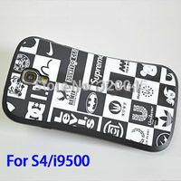 Korea Cartoon case for Samsung S4 i9500 phone shell protective sleeve Tide brand tpu hard silicone shell casing couple