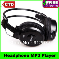 SH-S6 On-Ear Foldable Headphone Design MP3 Player with FM Radio & TF Card Reader