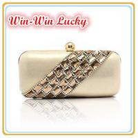 New 2014 Women's Clutch. Twill Diamond Velvet Party Evening Bag Bridal Handbag.  Shoulder Messenger Bag Black Gold Silver Purple