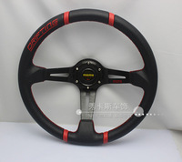 Modified steering wheel momo 14 faux leather steering wheel automobile race steering wheel general