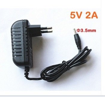 New 5V 2A AC - DC 3.5 x 1.35mm EU Adapter wall Charger for Tablet MID, free shipping(China (Mainland))