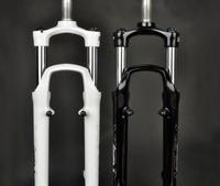 free shipping 2014  Suntour xcm v3 mlo spring lock suspension mountain bike fork black and white