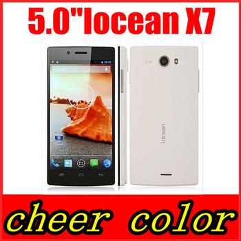 Iocean X7s X7 HD Cell phone MTK6582 Quad Core 1.3GHz 1GB RAM 8GB ROM 8MP black,white Russian menu WCDMA 3G GPS In Stock