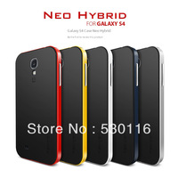 SGP NEO HYBRID Hard case for Samsung Galaxy S4 9500 Back Cover New Arrival TPU + Plastic frame,5 Original Colors&Retail Package