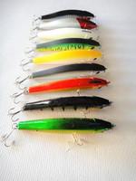 Wholesale - new minnow fishing lures hard bait false bait fishing tackle plastic lip china hook floating  8.5cm/10g