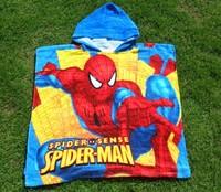 Kids   Spider   Man    Cotton   Bath   Towel     Boys   Beach   Towle