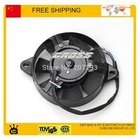 ATV Radiator Cooling Fan Motor Assembly SPORTSMAN 200cc 250cc ATV UTV GO KART electric round radiator cooling fan free shipping