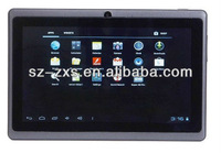 Zhixingsheng Free Shipping A13 MID - Cheap Tablet PC Q88 - 7 inch Capacitive Screen + Android 4.0 + Camera + Wifi + 1.2GHz